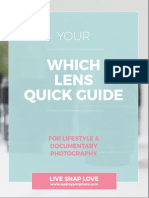 Which Lens Quick Guide