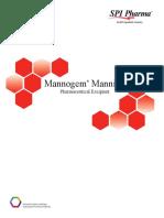 Mannitol Mannogem product description