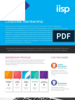 IISP Corporate Membership Flyer V2
