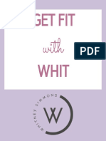 Whitney Simmon's - Fit With Whit