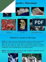 1. Cristalografía y Mineralogía