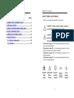 User Manual GAD-201G Distortion Meter