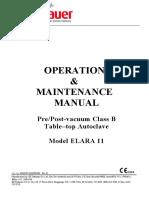 Elara11 Operators Manual
