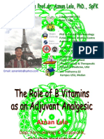 BMS1 - K10 - The Role of B Vitamins as an Adjuvant Analgesic.ppt