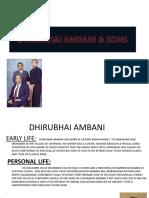 Dhirubhai Ambani & Sons