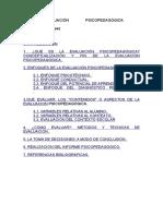 LA EVALUACIÓN PSICOPEDAGÓGICA.doc