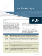 Board Perspectives on Risk Oversight