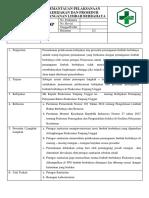8.5.2.3 SOP Pemantauan Pelaksanaan Kebijakan Dan Prosedur Penanganan Limbah Berbahaya 1