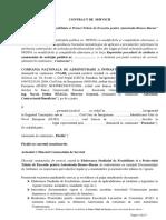 Contract de Servicii - SF -PT Autostrada Brasov-Bacau