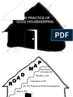 5S and the Practice of Good Housekeeping