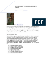 25 Emerging African Women Leaders Chosen as 2010 MILEAD Fellows