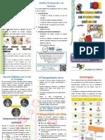 Folheto de Produtos Químicos
