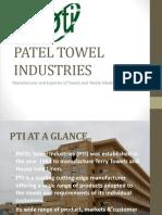 Patel Towel Presentation