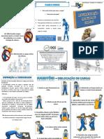 Folheto de Movimentação Manual de Cargas