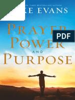 prayer power and purpose