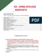 Bulgaria Borovets 2019 2020