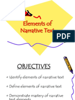 Features of Narrative Text