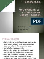 Konjungtivitis Akut + SJS