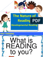 1. Nature of Reading