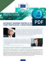 Budget Proposals Modern Eu Budget May2018 Ro 0