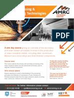 Metal Processing & Manufacturing Technologies(1)