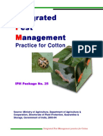 Integerated pest management for cotton
