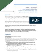Img Jeff Deutsch Digital Marketing Resume 2018