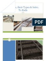 Lecture-3. Sleeper & Rails & Rail Joints