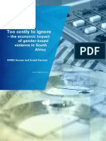 Too Costly to Ignore - The Economic Impact of Gender-Based Violence in South Africa (2014)