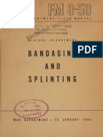 Bandaging and Splinting