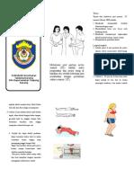Mobilisasi Post Partum Leaflet