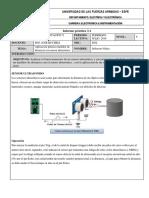 Aplicación práctica medidor de distancia con sensor ultrasónico