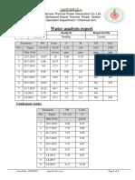 Unit 3 Water Analysis