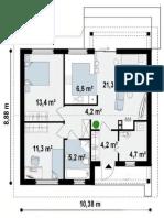 Planos de diseño de apartamentos