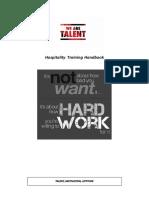 WAT Hospitality Training Handbook
