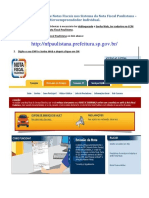 MEI_Configuração e Emissão de Notas Fiscais Nos Sistema Da Nota Fiscal Paulistana