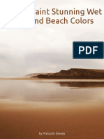 How to Mix Stunning Wet Sand and Beach Colors (Oils and Acrylics)
