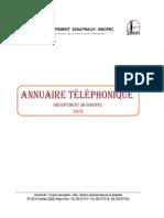 Annuaire Telephonique Gss 2018