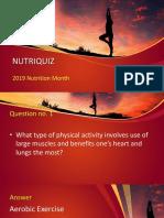 1 Nutri Quiz