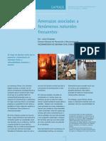 Brochure de amenazas asociadas a fenómenos naturales