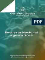 Encuesta Gustavo Córdoba & Asociados