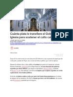 Chequeado - Argentia - Cuánta Plata Le Transfiere El Gobierno a La Iglesia Para Sostener El Culto Católico
