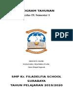 Program Tahunan, Program Semester, RPP (Cover)
