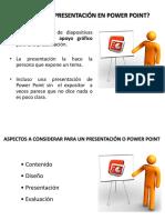 como hacer una presentación en power point