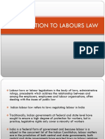 Introduction to Labours Law