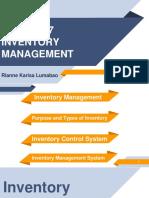 FinMan Inventory Management