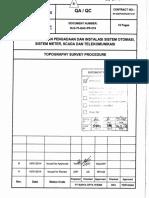 SLS-70-QAC-PR-018 Topography Survey Procedure, Rev. B - Approved
