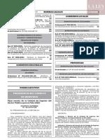 D.S.N°149-2019-PCM