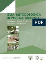 Guía Metodológica de Peritaje Ambiental