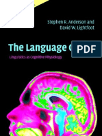 Anderson,Lightfoot 2002 The Language Organ